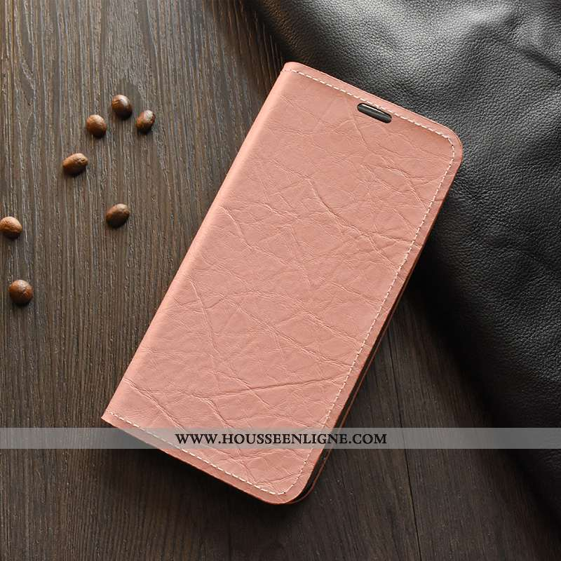 Coque Nokia 8 Sirocco Cuir Protection Téléphone Portable Étui Rose Housse 2020