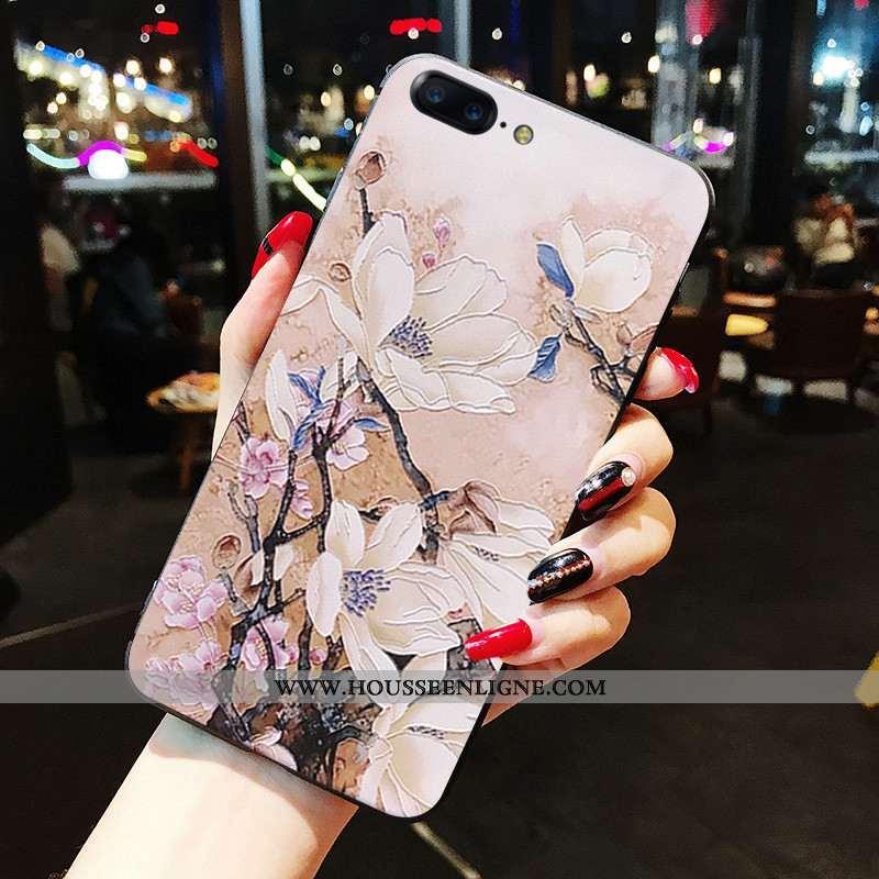 Coque Oneplus 5 Protection Fluide Doux Étui Téléphone Portable Tout Compris Rose
