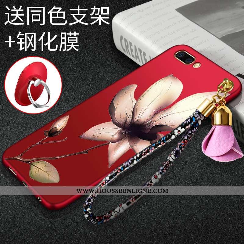 Coque Oneplus 5 Protection Ornements Suspendus Téléphone Portable Incassable Rouge Tout Compris