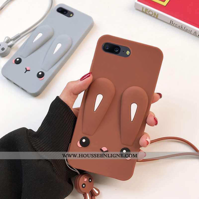 Coque Oneplus 5 Silicone Fluide Doux Incassable Téléphone Portable Tout Compris Étui Marron