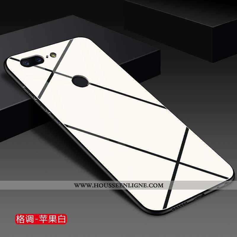 Coque Oneplus 5t Mode Protection Incassable Téléphone Portable Verre Étui Blanche