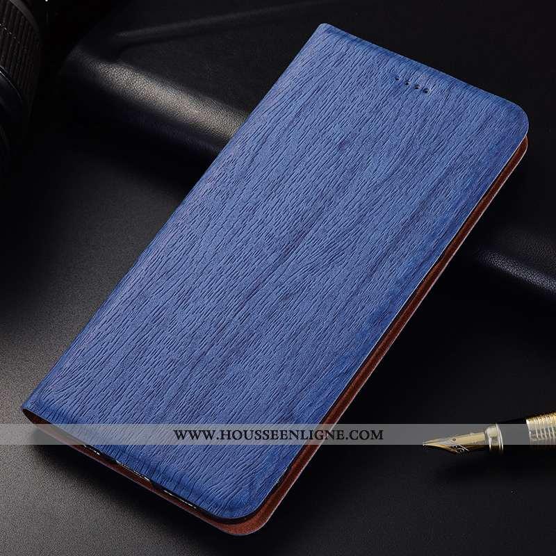Coque Oneplus 6t Modèle Fleurie Fluide Doux Téléphone Portable Nouveau Incassable Cuir Clamshell Ble