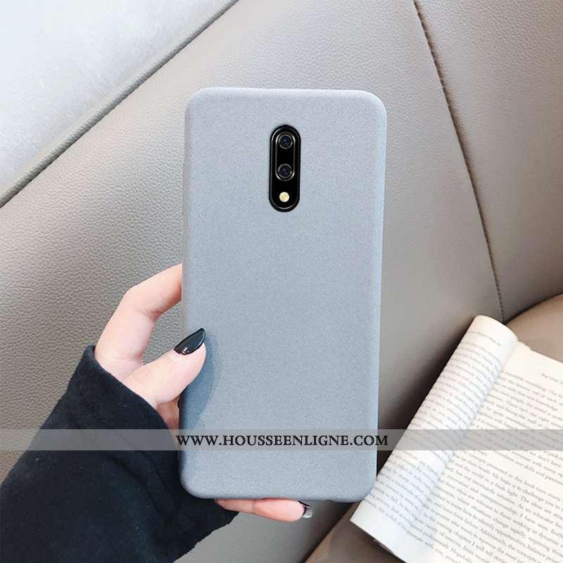 Coque Oneplus 7 Tendance Fluide Doux Téléphone Portable Protection Gris Incassable