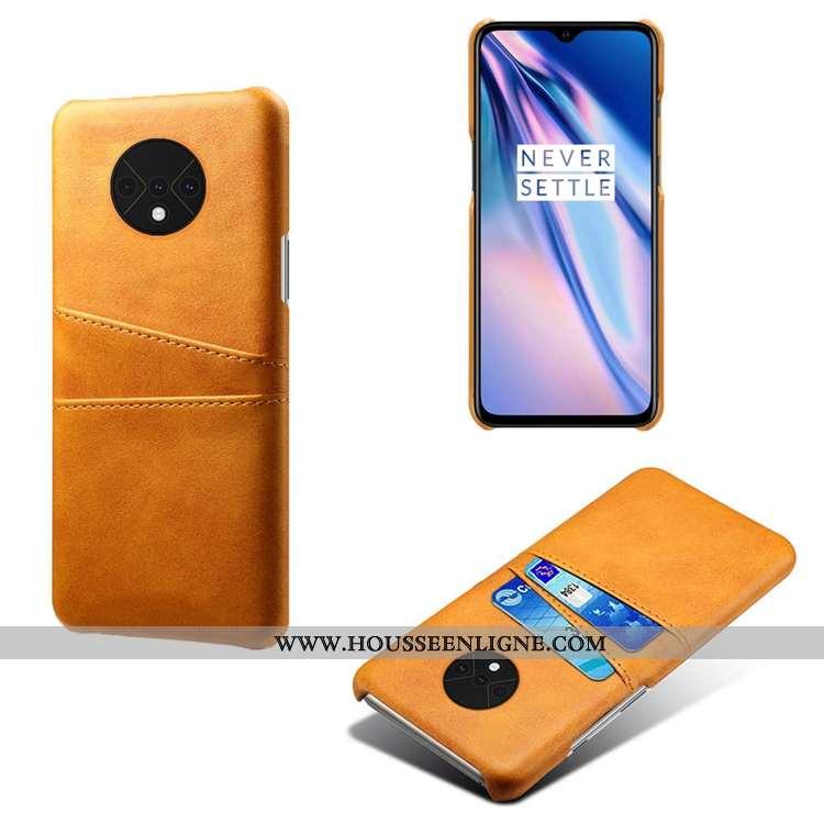 Coque Oneplus 7t Modèle Fleurie Personnalité Petit Étui Téléphone Portable Bovins Nouveau Jaune