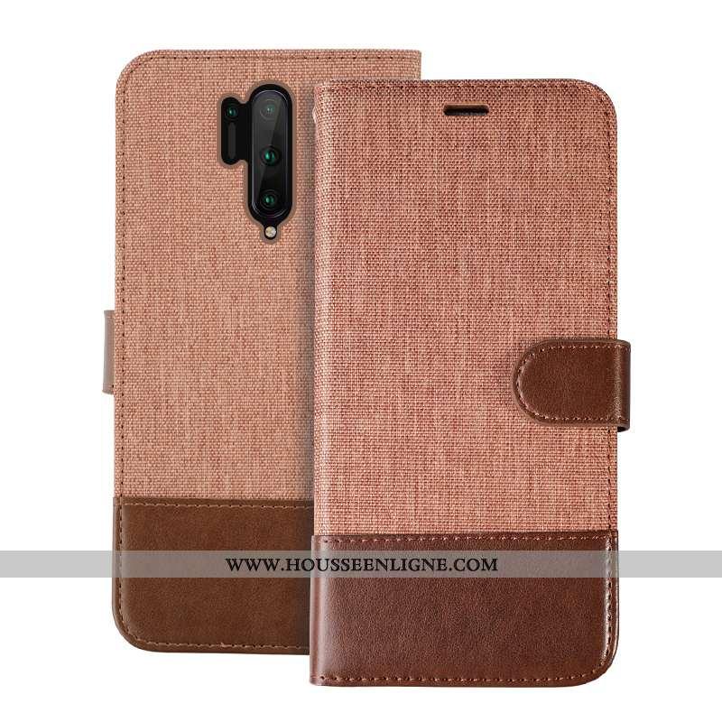 Coque Oneplus 8 Pro Protection Cuir Housse Incassable Tout Compris Téléphone Portable Khaki