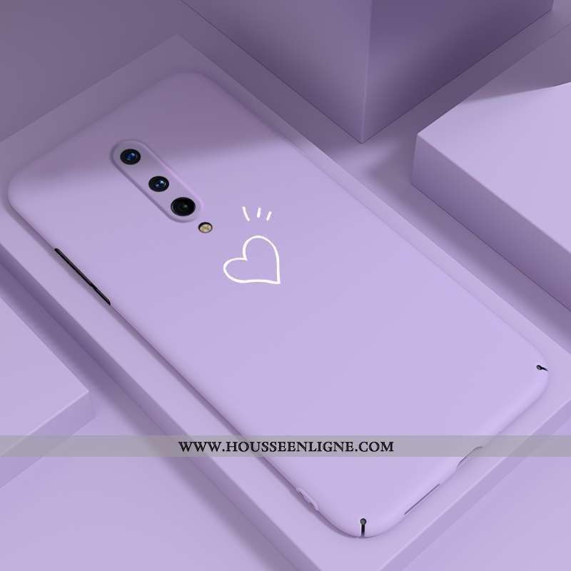 Coque Oneplus 8 Tendance Légère Incassable Tout Compris Téléphone Portable Protection Violet