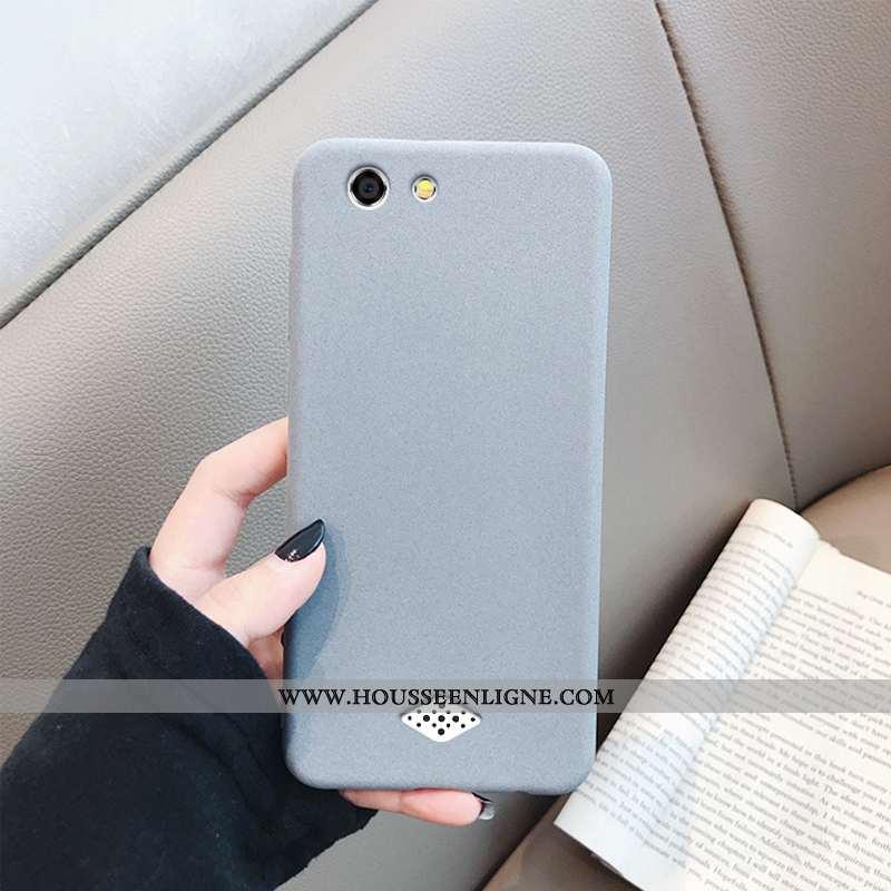 Coque Oppo A31 Personnalité Créatif Téléphone Portable Simple Délavé En Daim Protection Net Rouge Gr