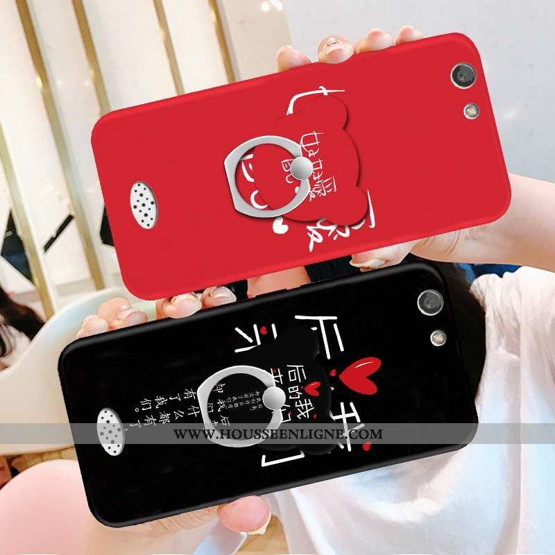 Coque Oppo A31 Silicone Personnalité Noir Tout Compris Support Nouveau Téléphone Portable