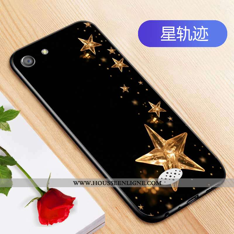 Coque Oppo A31 Silicone Protection Téléphone Portable Personnalité Étui Fluide Doux Créatif Noir