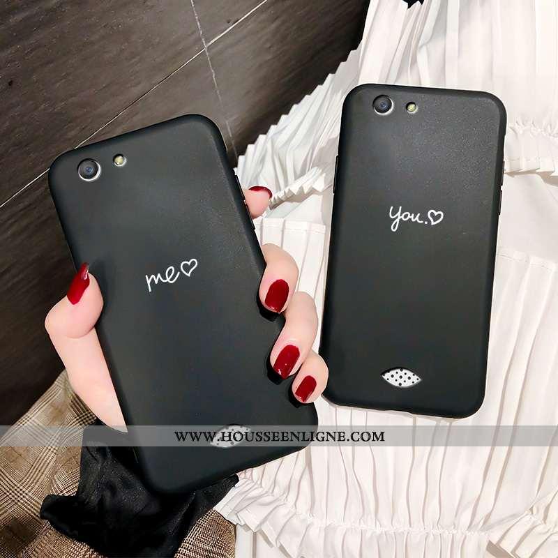 Coque Oppo A31 Tendance Légère Simple Tout Compris Téléphone Portable Étui Fluide Doux Noir