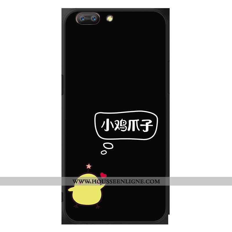 Coque Oppo A5 Fluide Doux Protection Téléphone Portable Noir Étui Incassable
