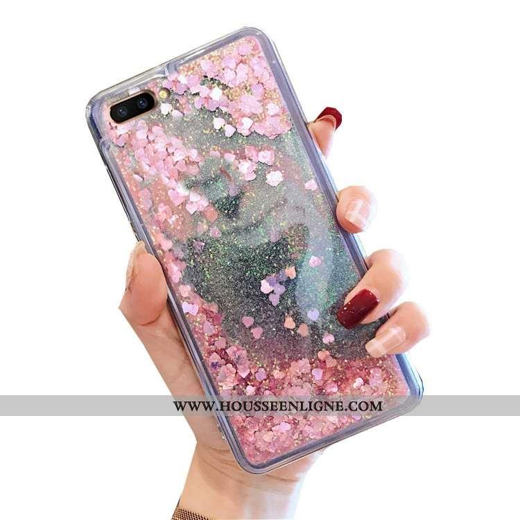 Coque Oppo A5 Tendance Fluide Doux Rose Quicksand Téléphone Portable Nouveau