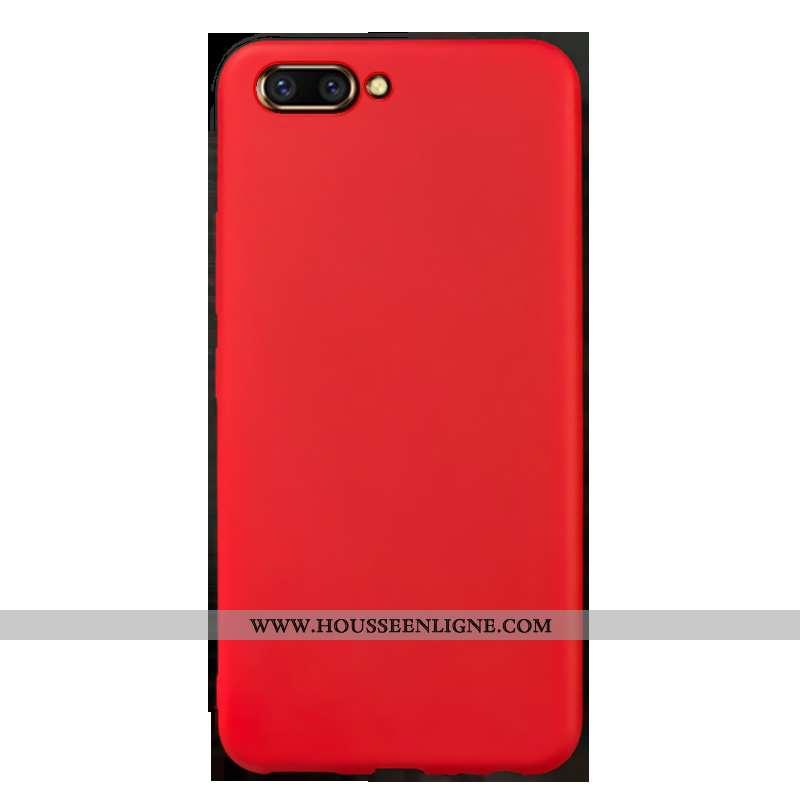 Coque Oppo Ax5 Fluide Doux Silicone Personnalité Incassable Rouge Protection