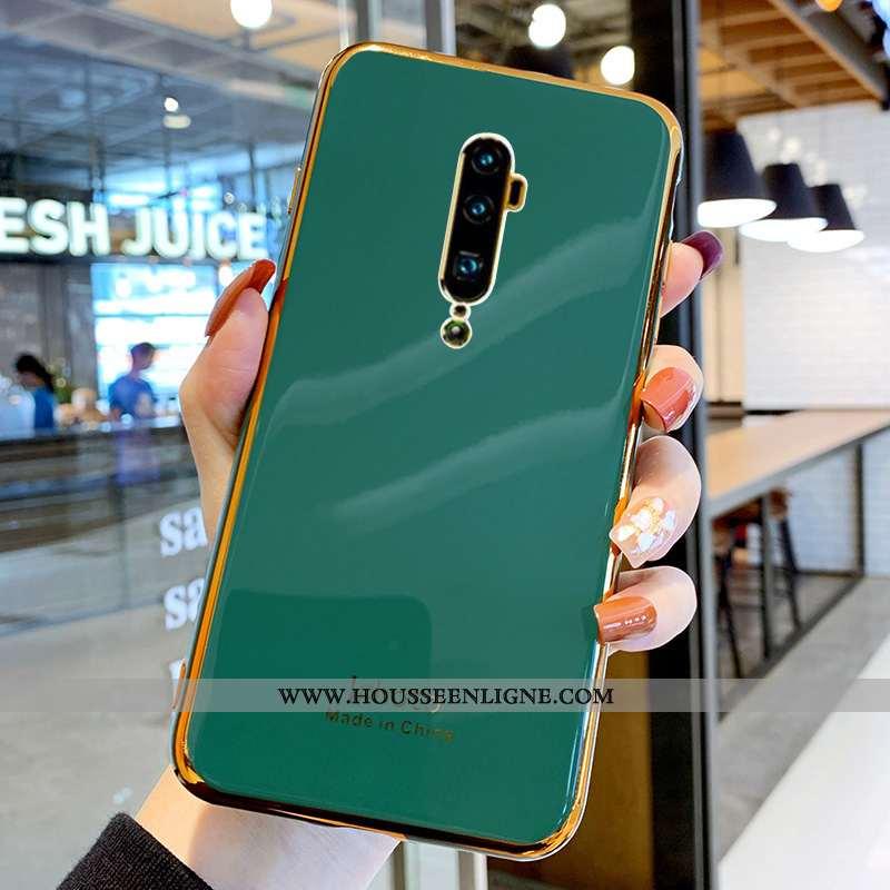 Coque Oppo Reno 10x Zoom Fluide Doux Silicone Étui Protection Tout Compris Net Rouge Verte