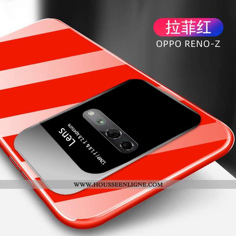Coque Oppo Reno Z Créatif Ultra Protection Téléphone Portable Net Rouge Tendance Légère