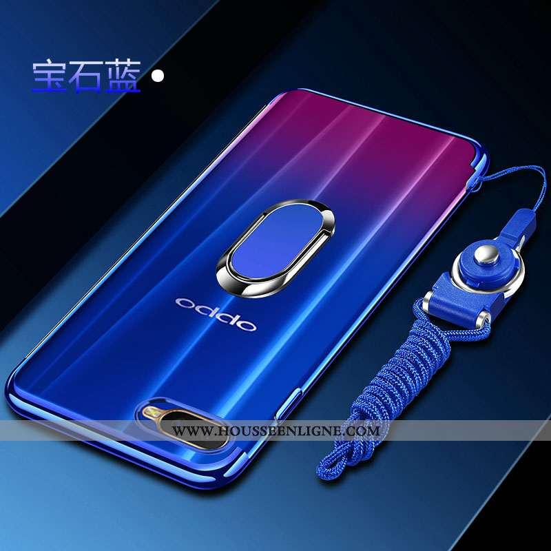 Coque Oppo Rx17 Neo Mode Protection Fluide Doux À Bord Incassable Tout Compris Bleu