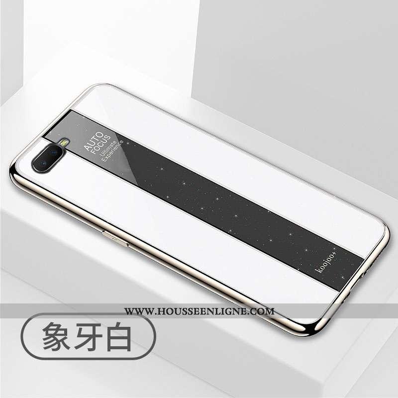 Coque Oppo Rx17 Neo Protection Créatif Étui Tout Compris Incassable Téléphone Portable Blanc Blanche