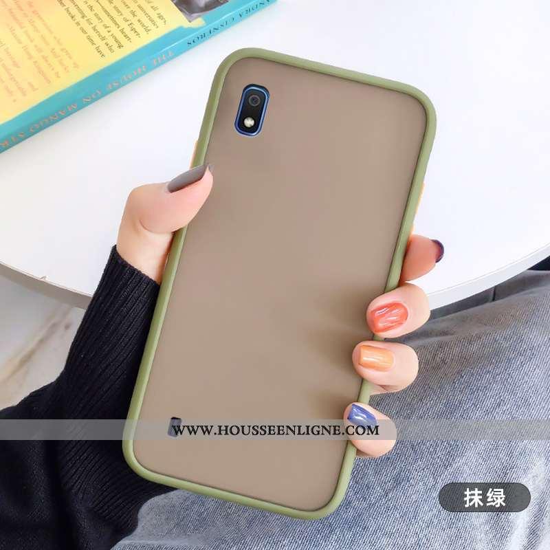 Coque Samsung Galaxy A10 Créatif Tendance Étoile Incassable Téléphone Portable Silicone Tout Compris