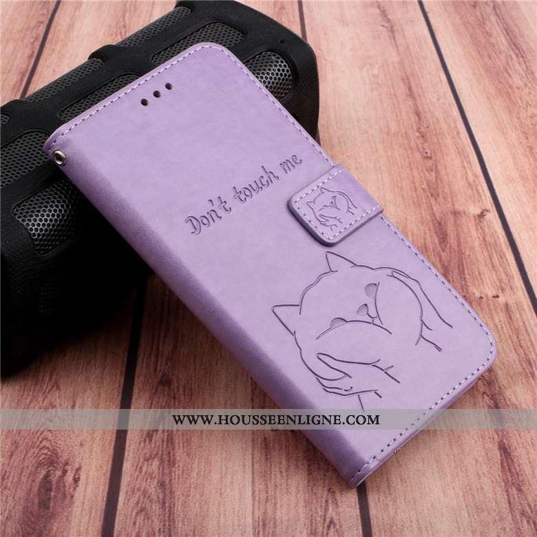 Coque Samsung Galaxy A10s Fluide Doux Protection Téléphone Portable Violet Incassable Housse