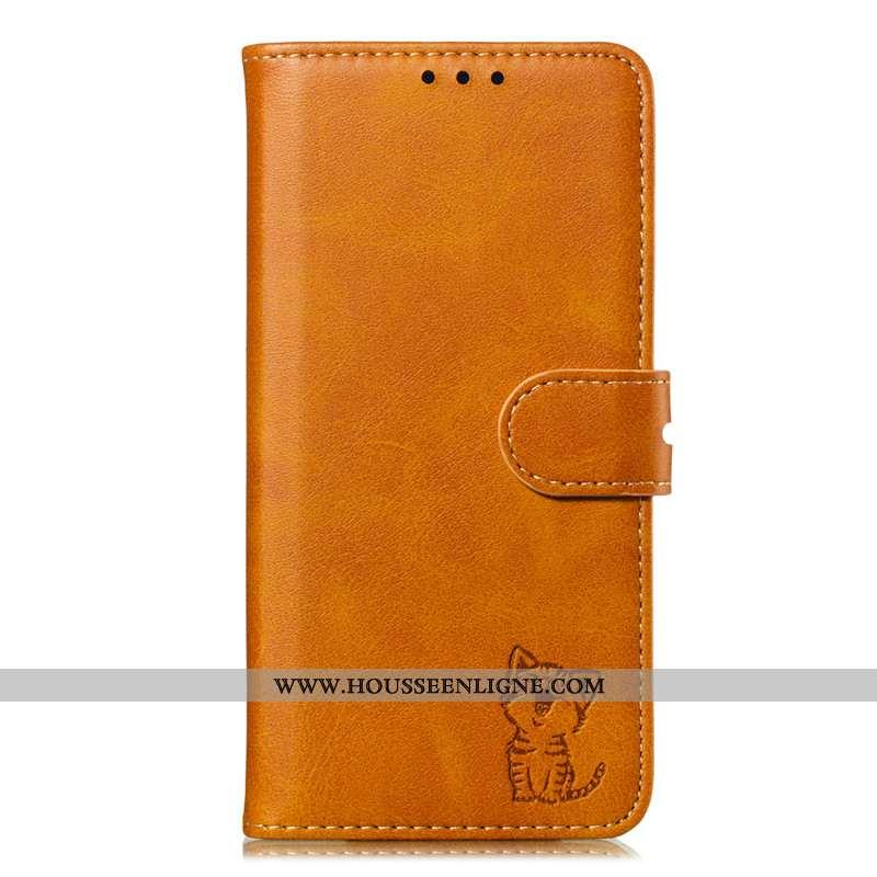 Coque Samsung Galaxy A10s Protection Cuir Tout Compris Téléphone Portable Étoile Jaune