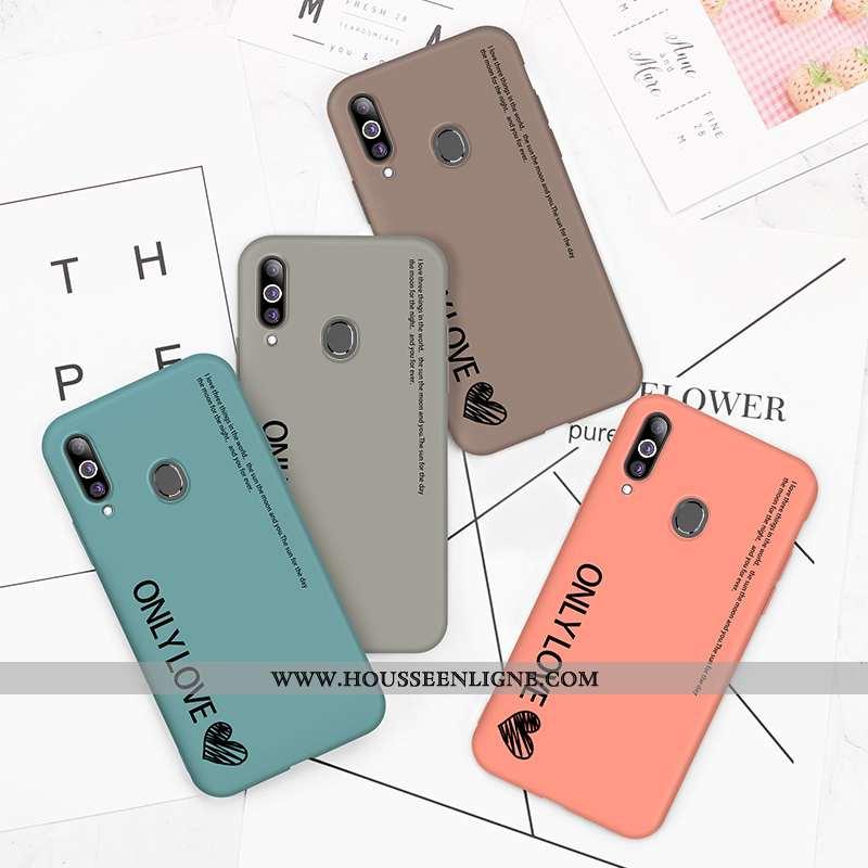 Coque Samsung Galaxy A20s Protection Délavé En Daim Vent Tendance Ultra Incassable Clair Bleu