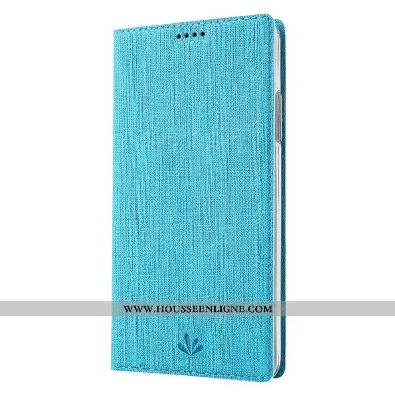 Coque Samsung Galaxy A21s Cuir Fluide Doux Étui Bleu Étoile Clamshell Incassable