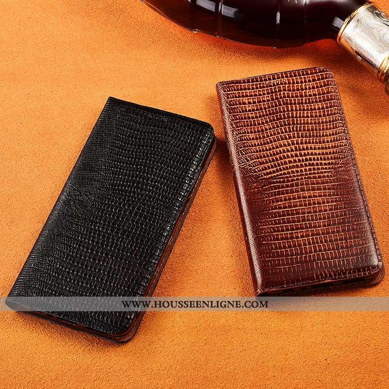 Coque Samsung Galaxy A30s Tendance Cuir Téléphone Portable Délavé En Daim Véritable Protection Incas