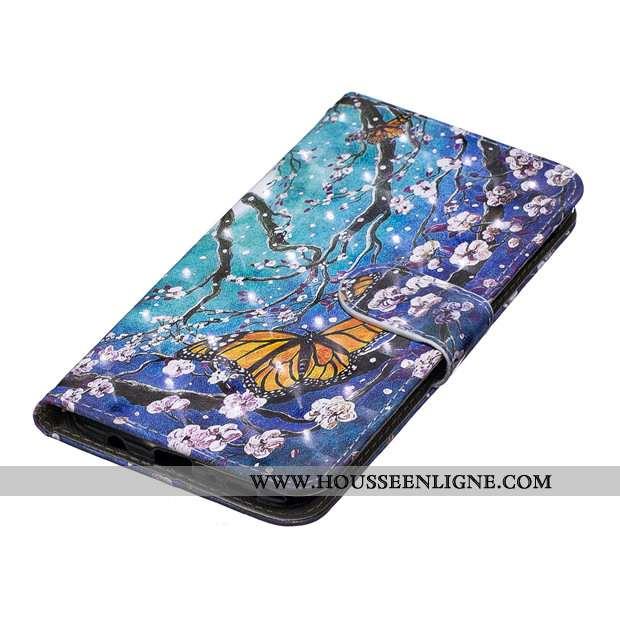 Coque Samsung Galaxy A40s Protection Silicone Étui Bleu Tout Compris Incassable