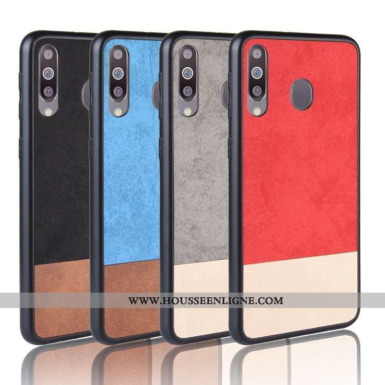 Coque Samsung Galaxy A40s Protection Tendance Téléphone Portable Tout Compris Étui Étoile Couture Co