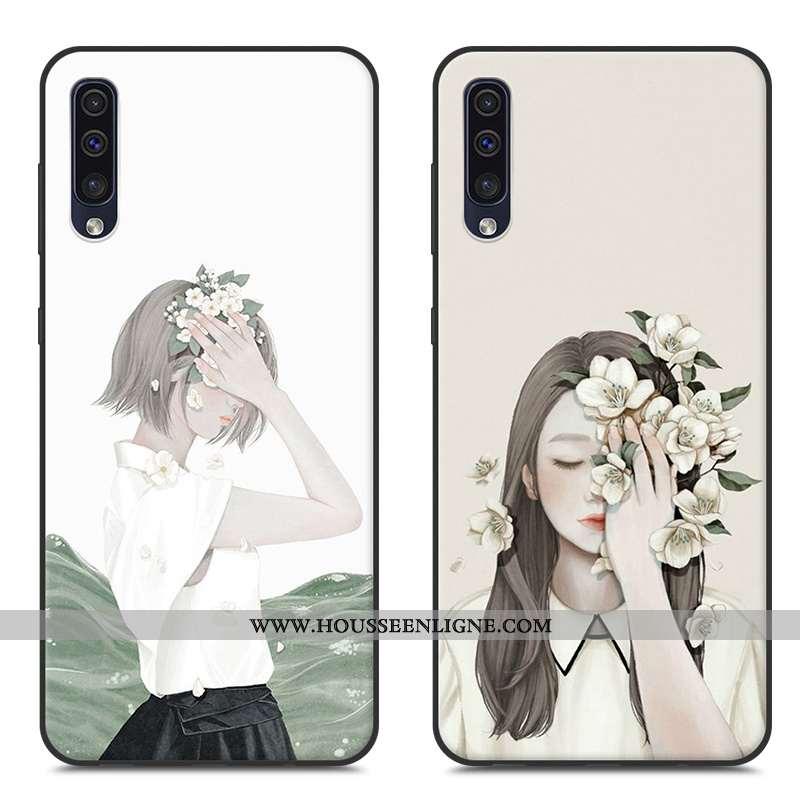 Coque Samsung Galaxy A50 Tendance Fluide Doux Étoile Personnalité Protection Nouveau Téléphone Porta