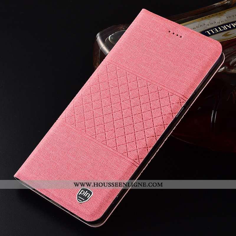 Coque Samsung Galaxy A51 Cuir Protection Housse Étui Téléphone Portable Étoile Rose