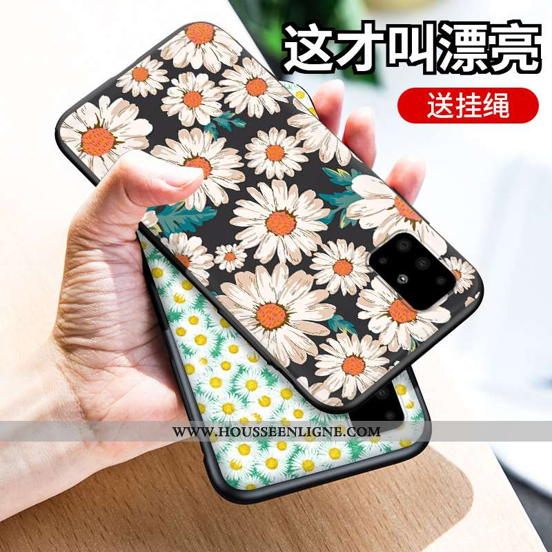 Coque Samsung Galaxy A51 Silicone Personnalité Créatif Tout Compris Incassable Téléphone Portable Ve