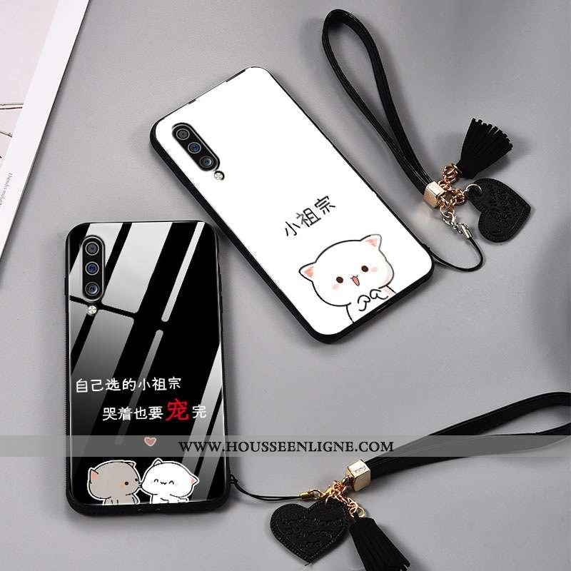 Coque Samsung Galaxy A70 Créatif Ultra Ornements Suspendus Légère Tendance Personnalité Étoile Noir