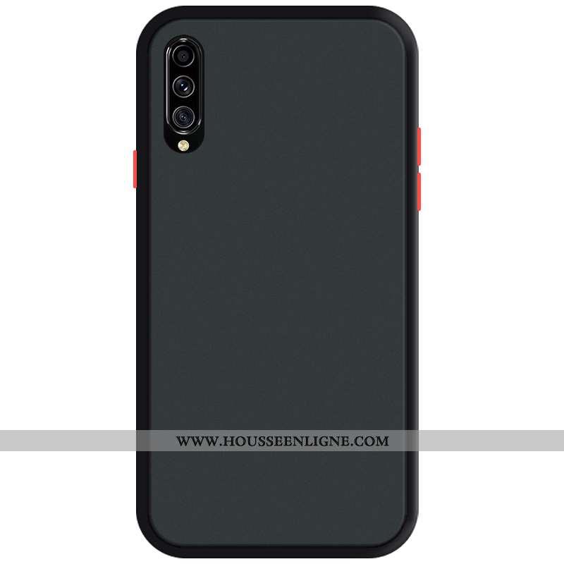 Coque Samsung Galaxy A70s Tendance Fluide Doux Protection Délavé En Daim Tout Compris Téléphone Port