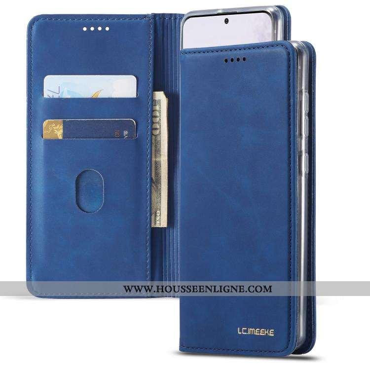 Coque Samsung Galaxy A71 Protection Étoile Simple Étui Téléphone Portable Clamshell Bleu