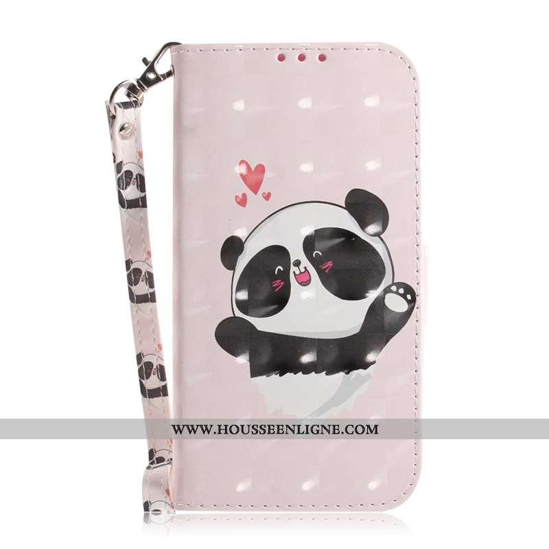 Coque Samsung Galaxy A71 Protection Cuir Téléphone Portable Carte Clamshell Étui Rose