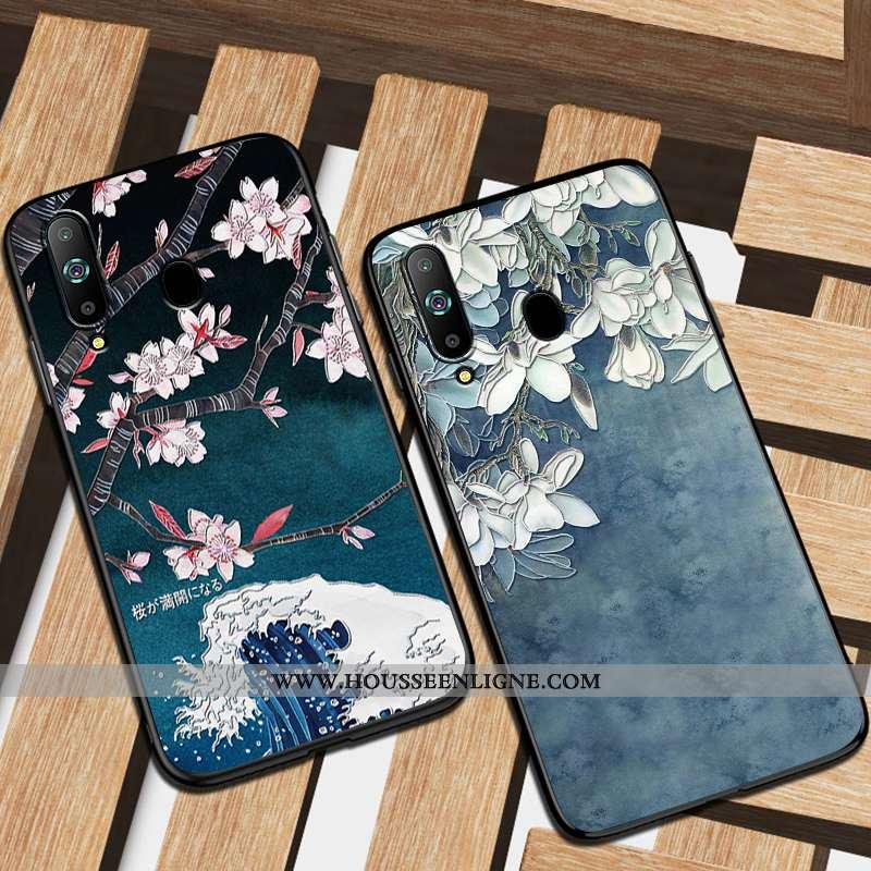 Coque Samsung Galaxy A8s Fluide Doux Silicone Tendance Étui Personnalité Téléphone Portable Protecti