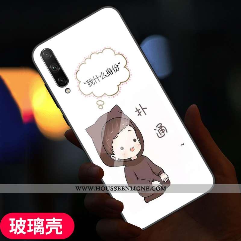 Coque Samsung Galaxy A90 5g Personnalité Créatif Tempérer Protection Verre Téléphone Portable Fluide