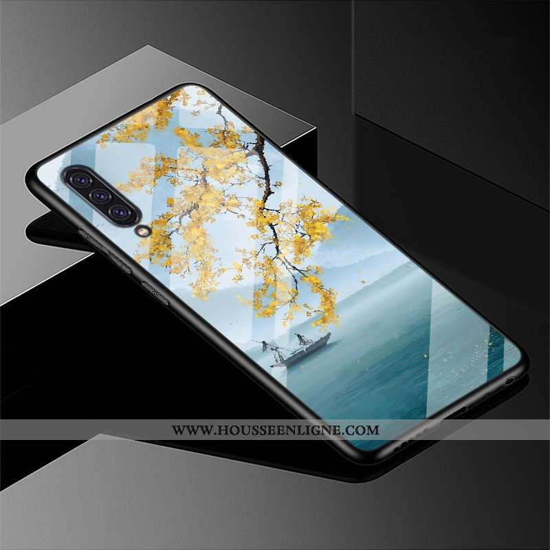 Coque Samsung Galaxy A90 5g Verre Personnalité Dessin Animé Téléphone Portable Personnalisé Fluide D