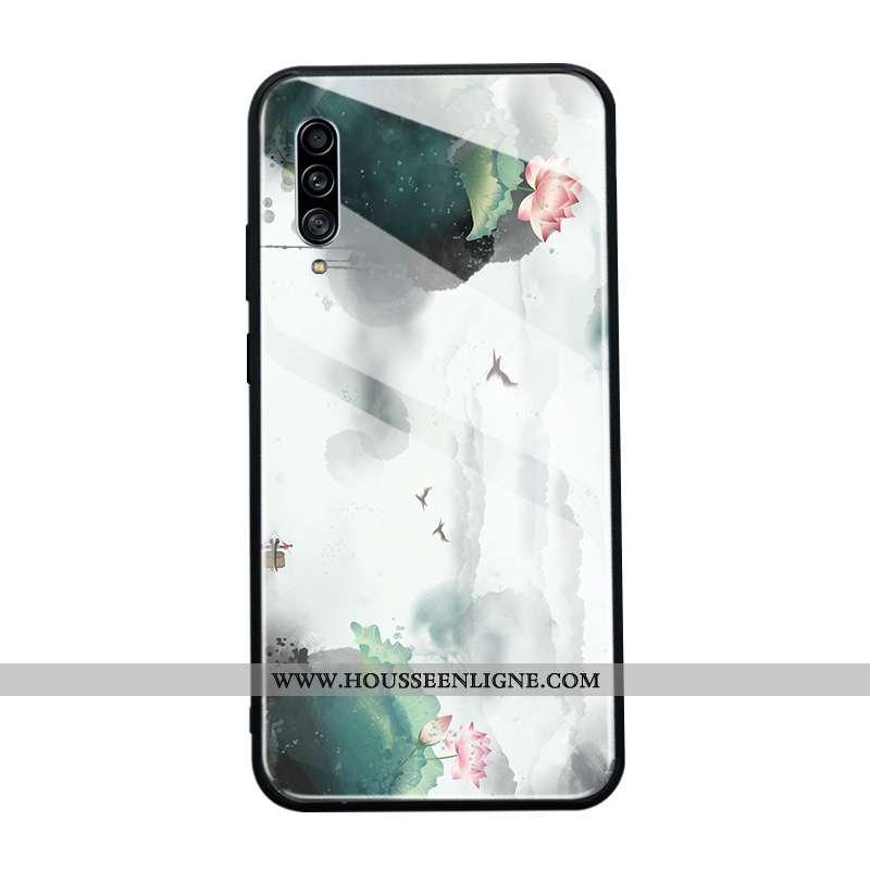 Coque Samsung Galaxy A90 5g Verre Protection Tout Compris Incassable Style Chinois Téléphone Portabl