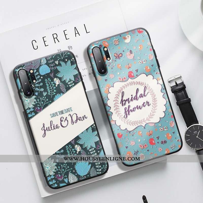 Coque Samsung Galaxy Note 10+ Créatif Gaufrage Silicone Dimensionnel Téléphone Portable Personnalité