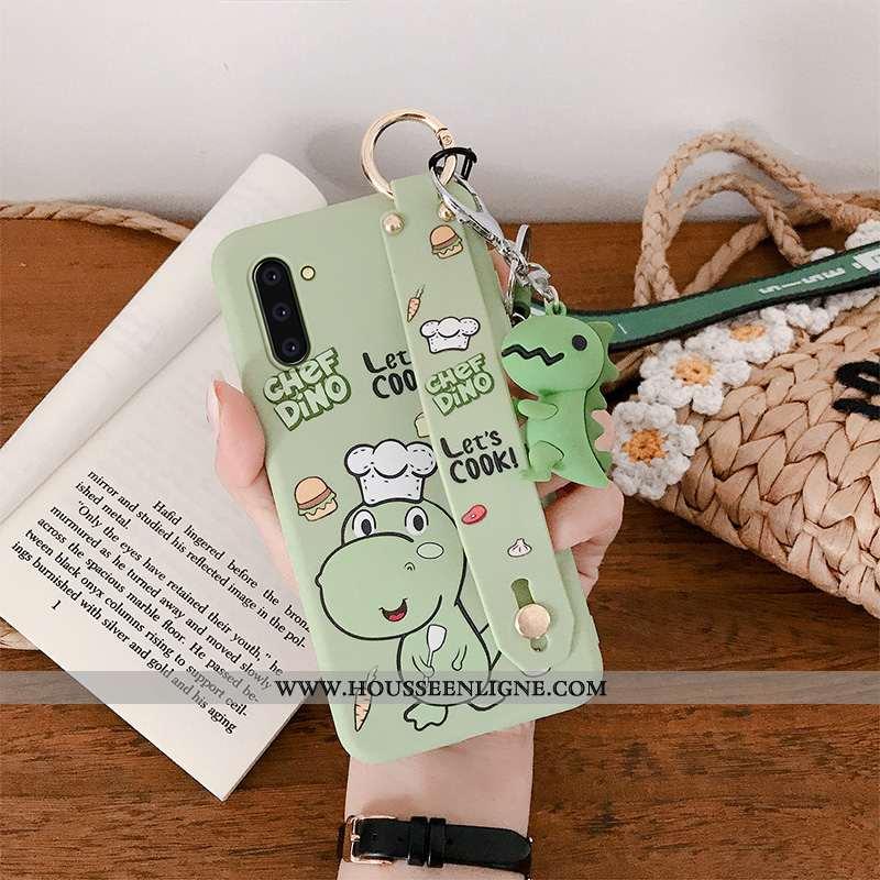 Coque Samsung Galaxy Note 10 Fluide Doux Protection Téléphone Portable Étoile Vert Légère Légères Ve