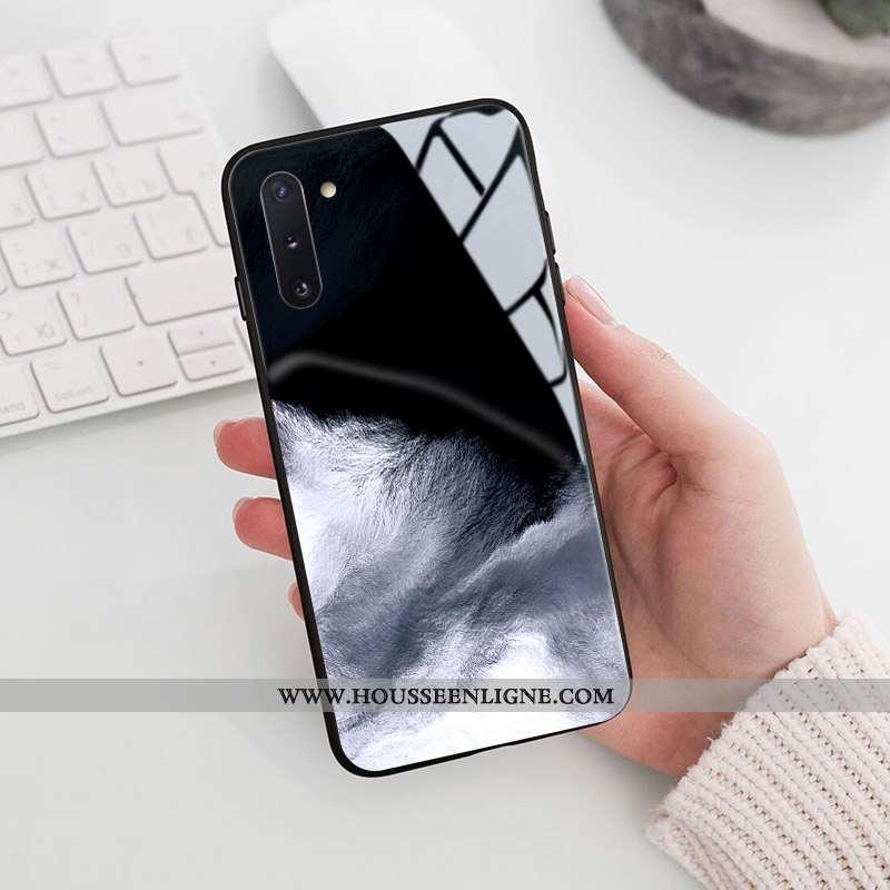 Coque Samsung Galaxy Note 10 Personnalité Créatif Étui Incassable Difficile Tout Compris Noir