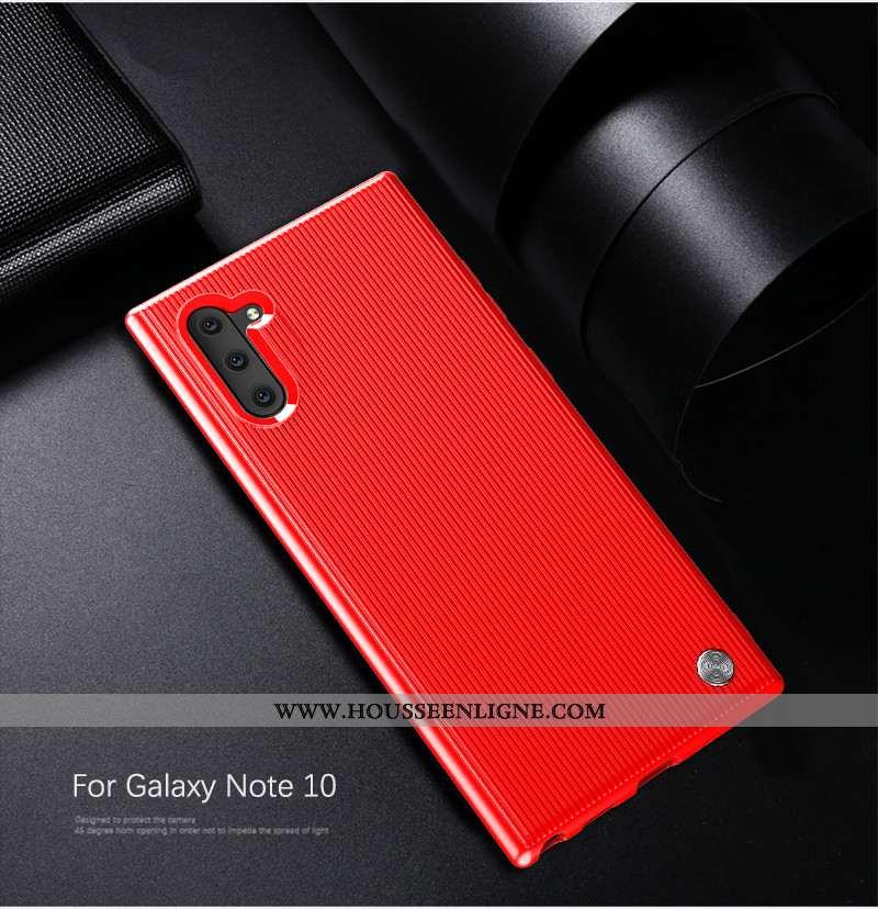 Coque Samsung Galaxy Note 10 Ultra Tendance Étui Rouge Étoile Légère Ornements Suspendus
