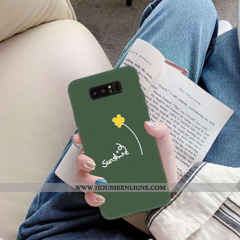Coque Samsung Galaxy Note 8 Légère Fluide Doux Tout Compris Téléphone Portable Incassable Frais Ultr