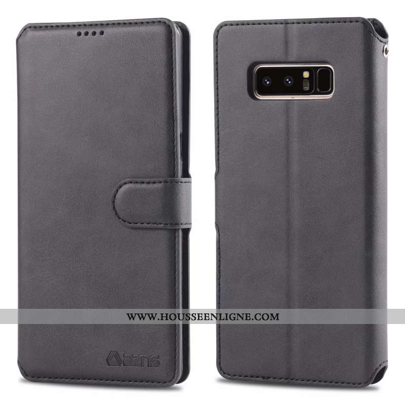 Coque Samsung Galaxy Note 8 Protection Ornements Suspendus Téléphone Portable Fluide Doux Tempérer N