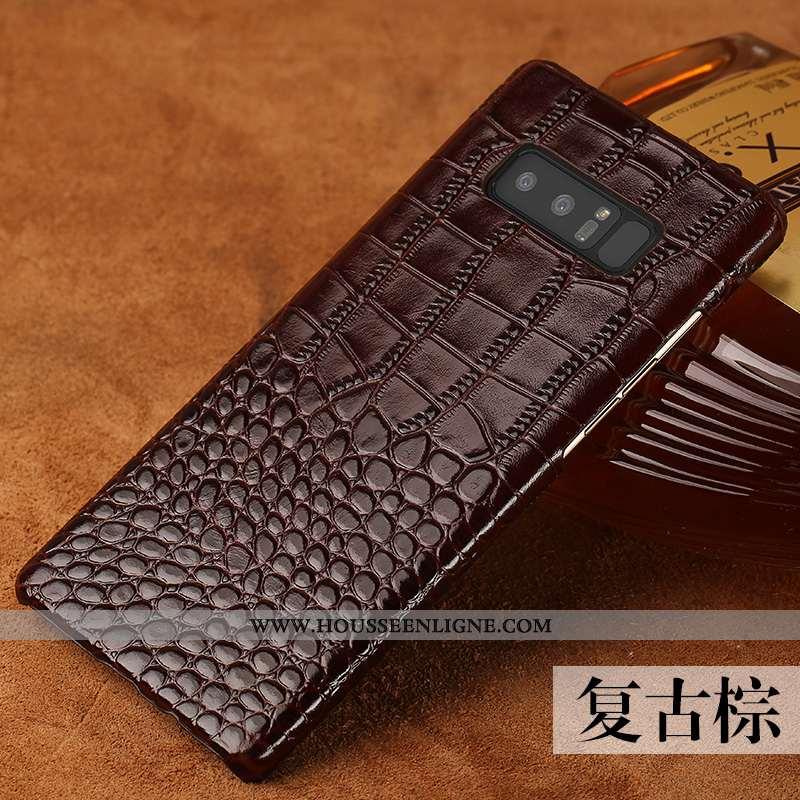 Coque Samsung Galaxy Note 8 Protection Personnalité Nouveau Qualité Étoile Tendance Incassable Marro