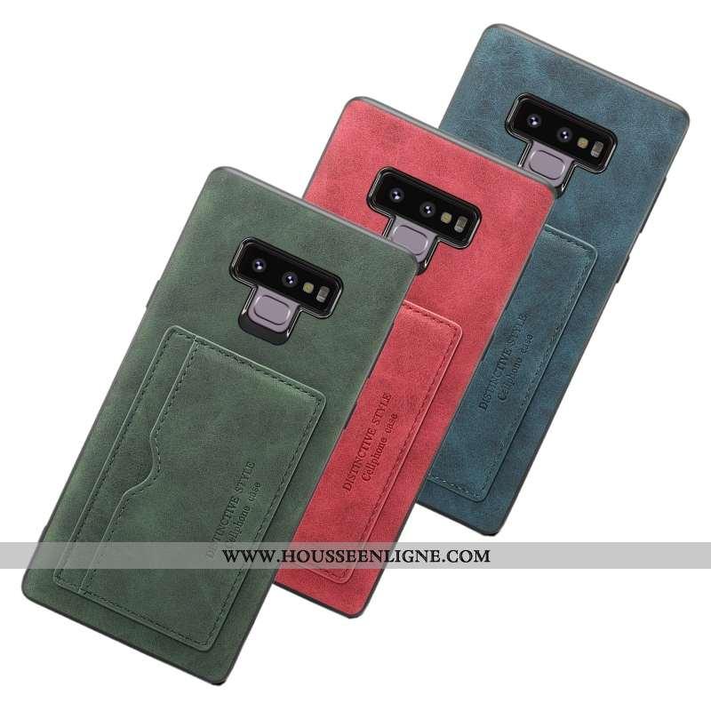 Coque Samsung Galaxy Note 9 Fluide Doux Protection Carte Téléphone Portable Incassable Étoile Tout C