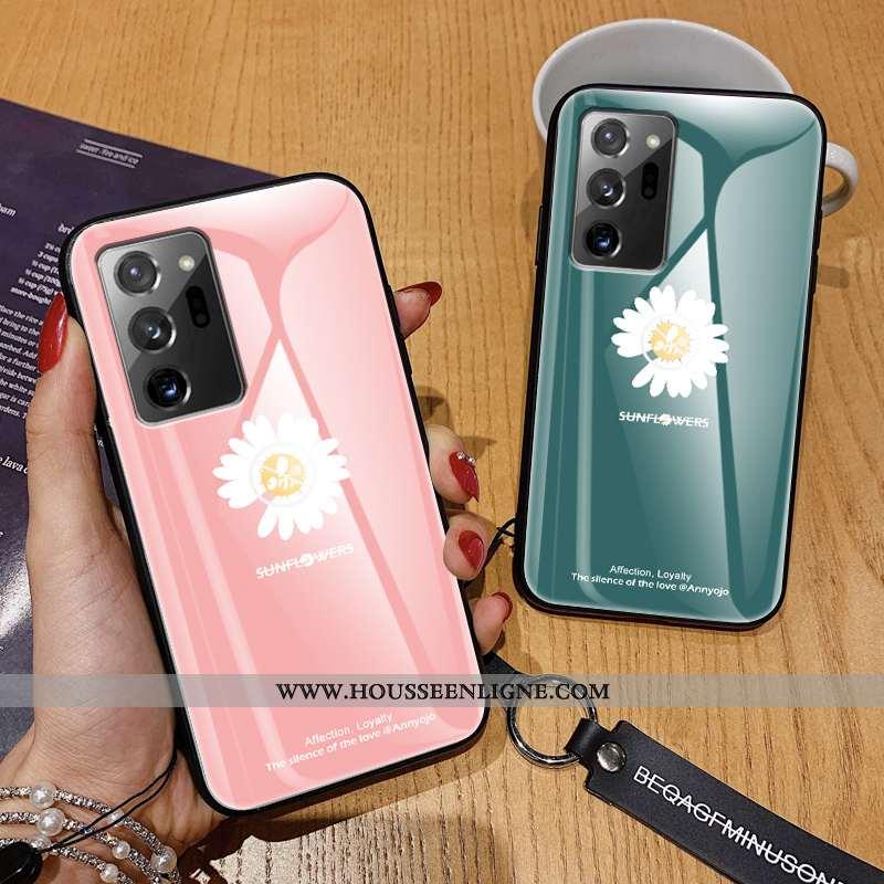 Coque Samsung Galaxy Note20 Ultra Créatif Ultra Ornements Suspendus Tout Compris Légère Net Rouge Ro
