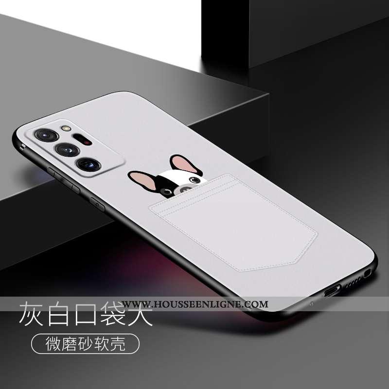 Coque Samsung Galaxy Note20 Ultra Dessin Animé Charmant Fluide Doux Étoile Personnalité Téléphone Po